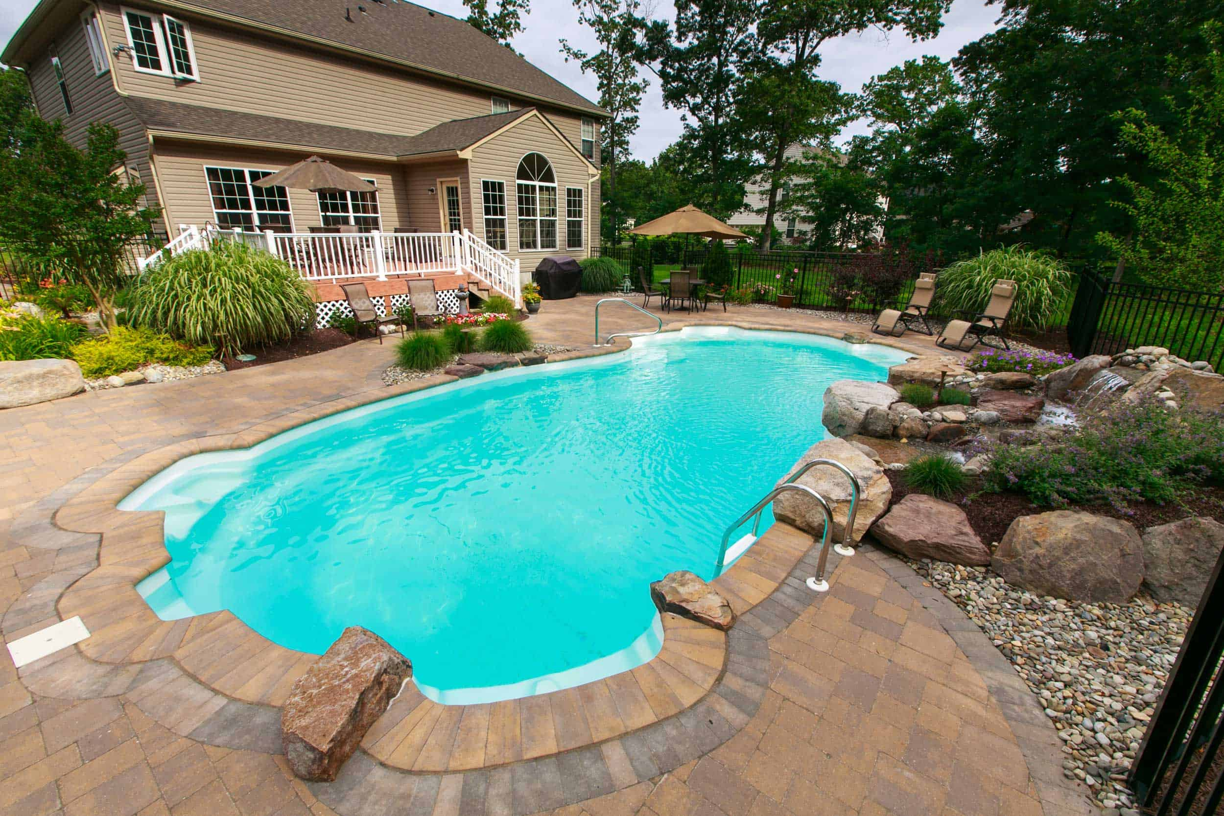 Custom Inground Pool Builder NJ  Darlington Designs