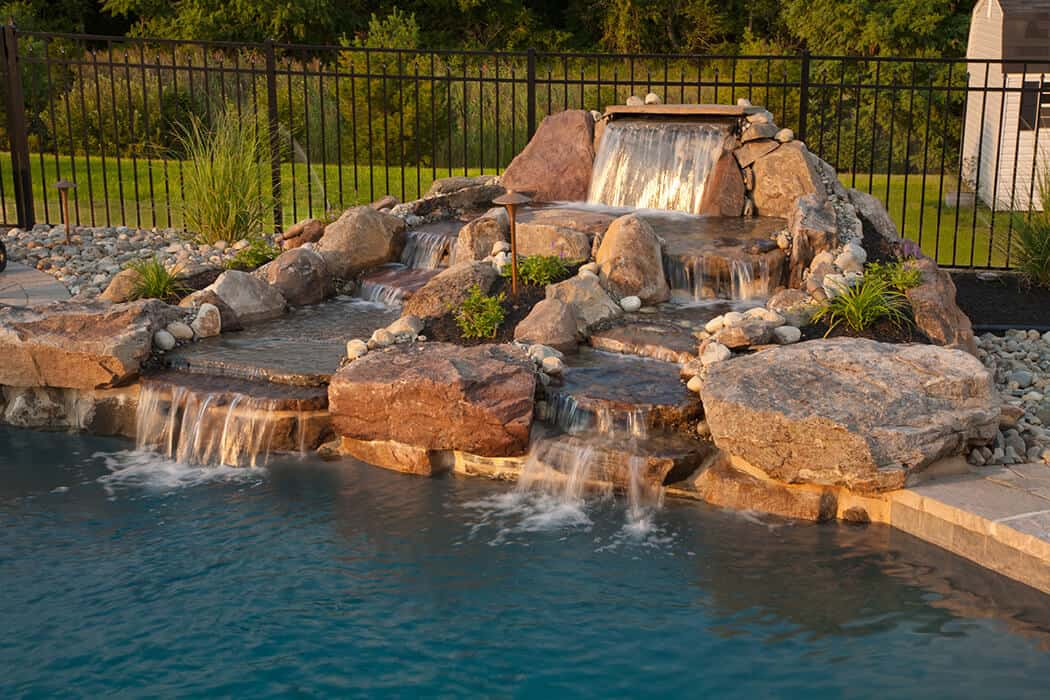 Construction Services – Ponds & Waterfalls